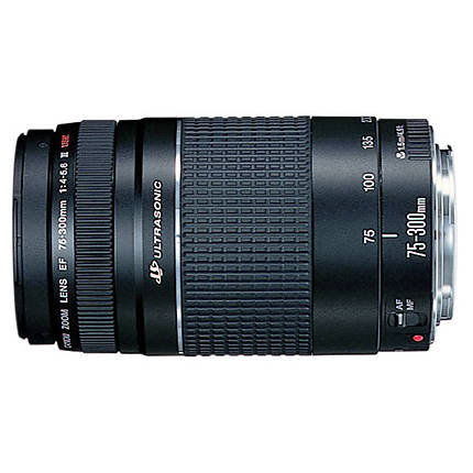 Used Canon EF 75-300mm f/4-56 III (non-USM) - Excellent