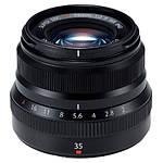 Used Fujifilm XF 35mm f2 R WR (Black) - Excellent