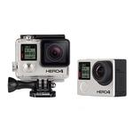 Used GoPro Hero 4 Black w/ 4 Batteries, Dual Charger [D] - Excellent