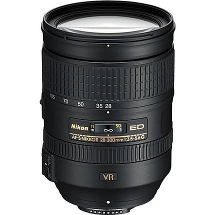 Used Nikon AF-S NIKKOR 28-300mm f/3.5-5.6G ED VR Lens [L] - Excellent