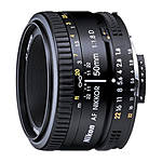 Used Nikon 50mm f/1.8 AF Nikkor [L] - Excellent