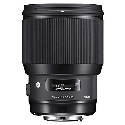 Used Sigma 85mm f/1.4 DG HSM Art Lens for Nikon F - Excellent
