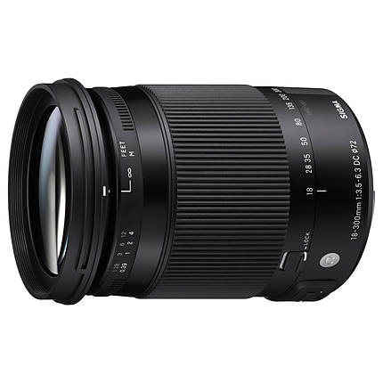 Used Sigma 18-300mm f/3.5-6.3 DC Contemporary for Canon EF - Excellent