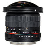 Used Samyang 8mm f/3.5 Fisheye for Canon EF - Excellent
