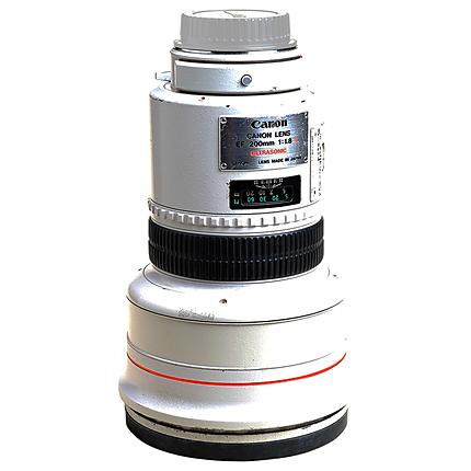 Used Canon EF 200MM F/1.8 L USM Lens - Fair