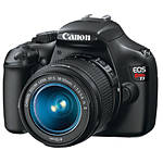 Used Canon Rebel T3 Kit W/ EF-S 18-55mm IS II Lens - Good