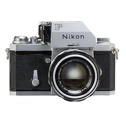 Used Nikon F Photomic FTN Film SLR (Chrome) - Good