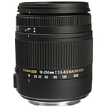 Used Sigma 18-250mm f/3.5-6.3 Macro HSM OS for Canon EF - Good