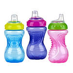Nuby 10oz No-Spill Cup Gripper with Soft Spout