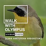 Walk with Olympus and Unique Photo at Cora Hartshorn Arboretum