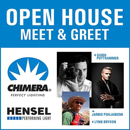 Open House Meet and Greet with Hensel and Chimera