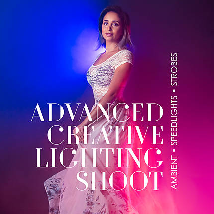 Advanced Creative Lighting Shoot: Ambient, Speedlights, Strobes with Rick F