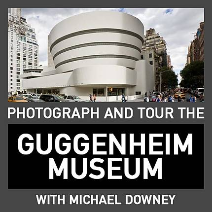 Photograph and Tour the Guggenheim Museum with Michael Downey