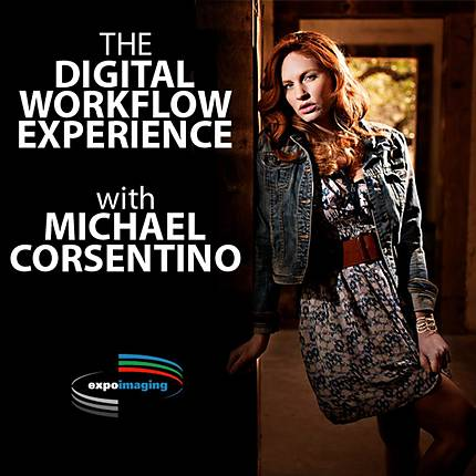 Lighting and Retouching Like a Pro with Michael Corsentino and ExpoImaging