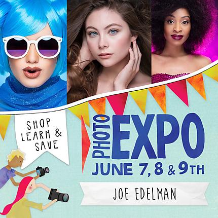 EXPO: Bold and Beautiful Fashion Portraits with Joe Edelman (Olympus)