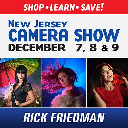 NJCS: Speedlights and Studio Strobes Shoot with Rick Friedman (Tamron)