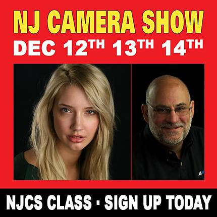 NJCS: Lighting for Portraiture with David Piazza (Westcott)
