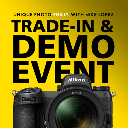 *FREE RSVP* Nikon Trade-in  and  Demo Event (Philly)