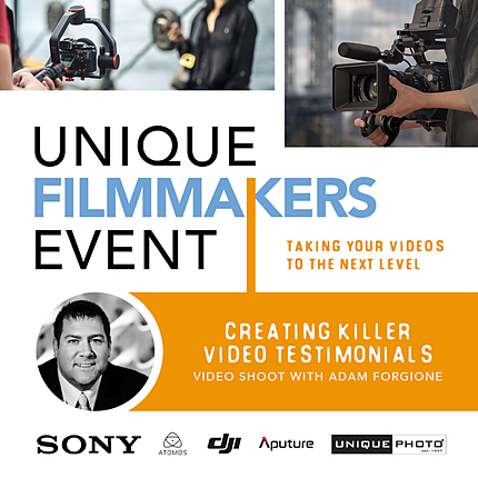 Creating Killer Video Testimonials with Adam Forgione (Video Shoot)