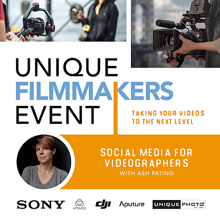 Social Media for Videographers with Ash Patino
