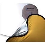 Westcott 30 Inch 4 - In - 1 Collapsible Reflector  Gold/Silver
