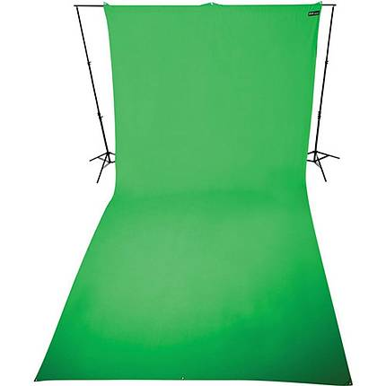 Westcott 9x20 Ft Green Screen Matte Heavy Duty Wrinkle Resistant BackDrop