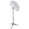 Westcott Collapsible Umbrella Flash Kit - Optical White Satin Diffusion 43in