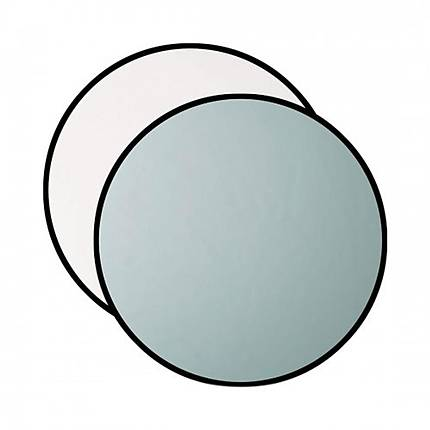 Westcott Collapsible 2-in-1 Silver/White Bounce Reflector 40in