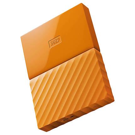 Western Digital 3TB My Passport USB 3.0 Secure Portbale Hard Drive (Orange)