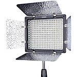 Yongnuo YN-300 III LED Light With (2) Batteries, Charger, and AC adapter