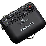 Zoom F2 Portable Field Recorder with Lavalier Microphone