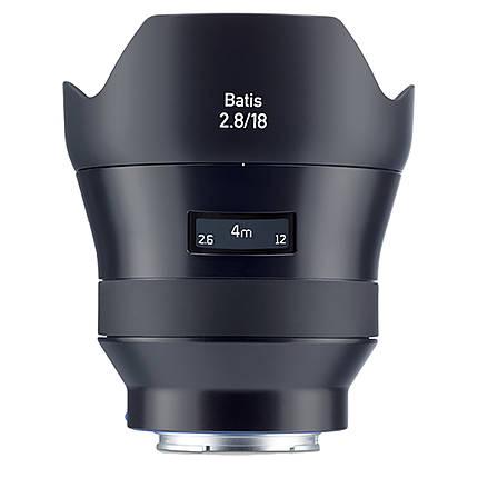 Zeiss Batis 18mm f/2.8 AF lens for Sony Full Frame E-Mount Cameras