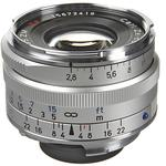 Zeiss C Biogon T 35mm f/2.8 ZM Wide Angle Lens - Silver