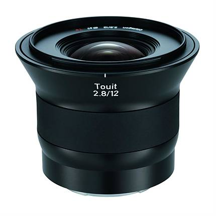 Zeiss Touit 12mm f/2.8 Ultra Wide Angle Lens for E Mount Cameras - Black