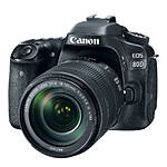Canon EOS 80D Digital SLR Camera with 18 - 135mm IS USM Lens