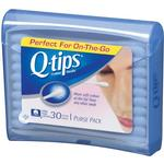Q-Tips Cotton Swabs Travel Pack 30ct