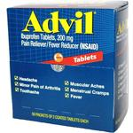 Advil 2pk Tablets (Box of 50 2pks)