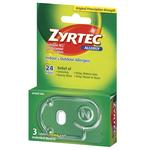 Zyrtec Allergy Tablets 3ct 10mg