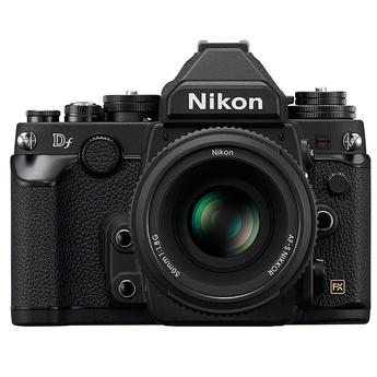 Nikon Df 16.2 MP CMOS Digital Camera with 50mm f/1.8G Lens-Black
