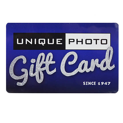 Unique Photo 1000 Dollar Gift Card